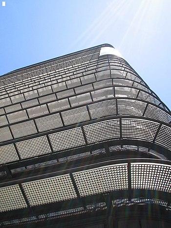 Torre BBVA desde abajo