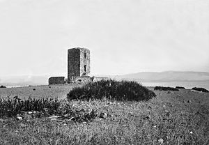 Siege of Algeciras (1342–44) - Torre de los Adalides (Tower of the Champions)
