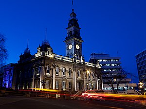 Town Hall, Dunedin, NZ
