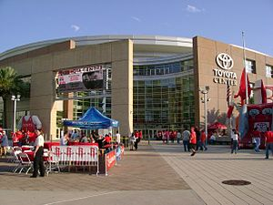 The Rockets moved into the Toyota Center at th...
