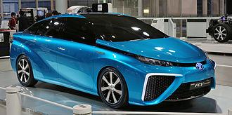 Toyota Mirai - Toyota FCV concept car
