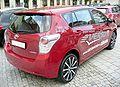 Toyota Verso Vulcanorot Heck.JPG