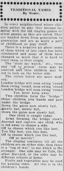 London Bridge Is Falling Down Wikipedia