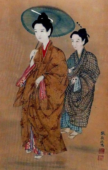 Traditional clothes of Ryukyu