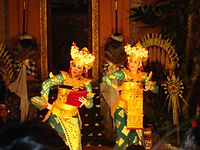 Traditional performing arts 001, Ubud, Bali.JPG