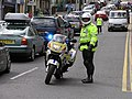 Traffic cop in Omagh - geograph.org.uk - 844152.jpg