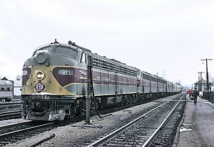 Huntington, Indiana - The Lake Cities, stopped at Huntington, IN on December 21, 1969