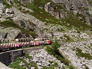 Petit train d'Artouste - Image: Train Artouste retour 3