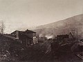 Train station with train and coal depot by Gustave Le Gray2.jpg
