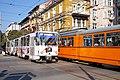 Tram in Sofia near Central mineral bath 2012 PD 021.jpg