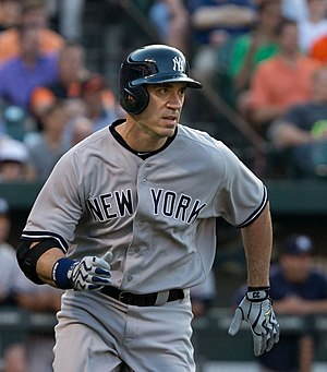 Travis Hafner - Hafner with the New York Yankees