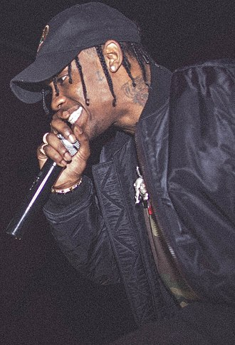 Travis Scott - Scott performing in February 2016.