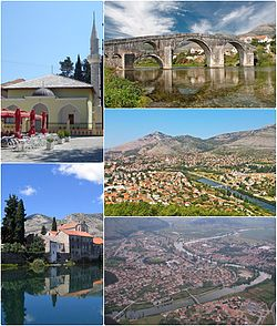 Skyline of Trebinje
