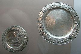 Gallo-Roman silver plates & Plate (dishware) - Wikipedia