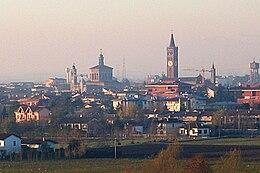 Panorama della città