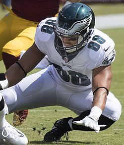 refer to caption. Burton with the Philadelphia Eagles ... e75cf7834
