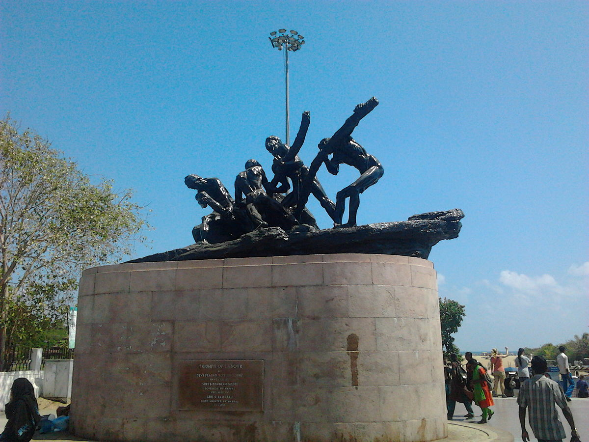 Triumph of Labour at Marina Beach.jpg