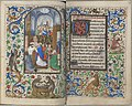 Trivulzio book of hours - KW SMC 1 - folios 067v (left) and 068r (right).jpg