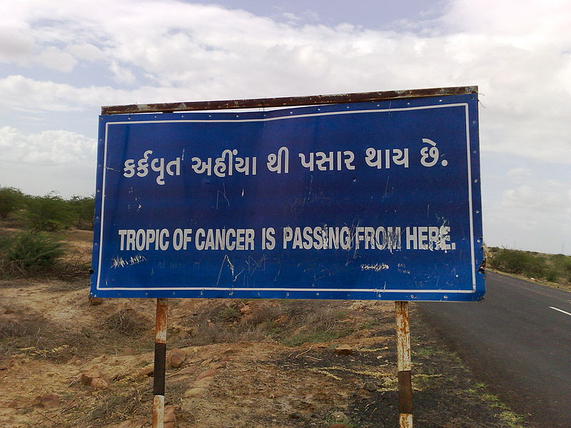 Tropic of Cancer - a few miles from Rann of Kutch.jpg