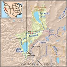Схема течения реки траки.