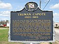Truman Capote Historical Marker in Monroeville, Alabama.JPG