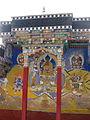 Tsong khapa -shakymuni-rinpoche-shri devi-mahakala Tikse.jpg