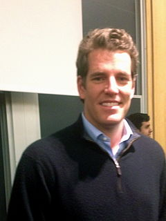 Tyler Winklevoss American rower and entrepreneur