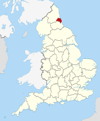 Tyne and Wear within England