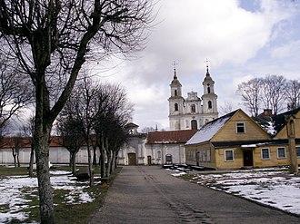 Tytuvėnai - Image: Tytuvenai monastery