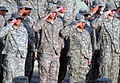 U.S. Soldiers salute while standing in formation during a retreat ceremony at an undisclosed location in Southwest Asia May 28, 2010 100528-F-OK556-630.jpg