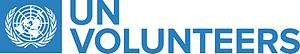 United Nations Volunteers - United Nations Volunteers official logo with tagline