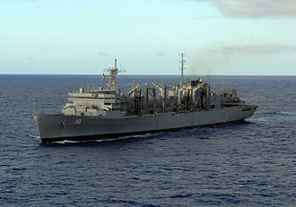 USNS Bridge (T-AOE-10) - Image: USNS Bridge (T AOE 10)