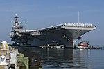 USS George H.W. Bush returns to Naval Station Norfolk. (35926557793).jpg
