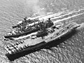 USS Kearsarge (CVS-33) Ashtabula (AO-51) Bronstein (DE-1037) off Vietnam 1969.jpeg