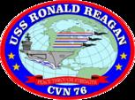 Военный корабль США Рональд Рейган COA.png