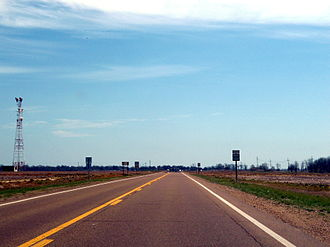 Mississippi Delta - US 49 runs through the Mississippi Delta.