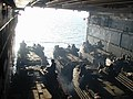 US Navy 020323-N-9855D-001 USMC AAV's prepare to leave the ships well deck.jpg
