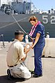 US Navy 020607-N-3228G-001 Pearl Harbor marriage proposal.jpg
