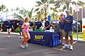 US Navy 081007-N-0995C-011 Members of the Naval Special Warfare community hand out water and cheer on children competing in the Ironkids Biathlon at Kailua-Kona.jpg