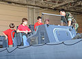 US Navy 090912-N-8949D-050 Special Warfare Combatant-craft Crewmen(SWCC) assigned to Special Boat Team (SBT) 20 teach members of Boy Scout Troop 300 of Williamsburg, Va., about the modern weapon systems used by SWCC.jpg