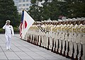 US Navy 090929-N-8623G-056 Adm. Timothy J. Keating, commander of U.S. Pacific Command, reviews the troops during an Honor Guard ceremony held at the Ministry of Defense in Tokyo, Japan.jpg