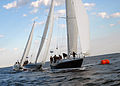 US Navy 101021-N-3857R-006 Members of the U.S. Naval Academy varsity and junior varsity offshore sailing teams practice in the Santee Basin.jpg