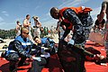 US Navy 110826-N-KK192-073 Sailors load a victim onto a stretcher during a mass accident response exercise.jpg