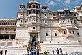 Udaipur-City Palace-03-Palace facade-20131013.jpg