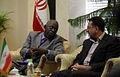 Ugandan Ambassador to Iran Mohammad Ahmad Kissule met mayor of Mashhad Mohammad Pezhman 3.jpg