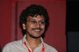 Umesh Vinayak Kulkarni - Umesh Vinayak Kulkarni presenting his film Valu in Karlovy Vary