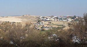 Umm al-Hiran - Umm al-Hiran general view.