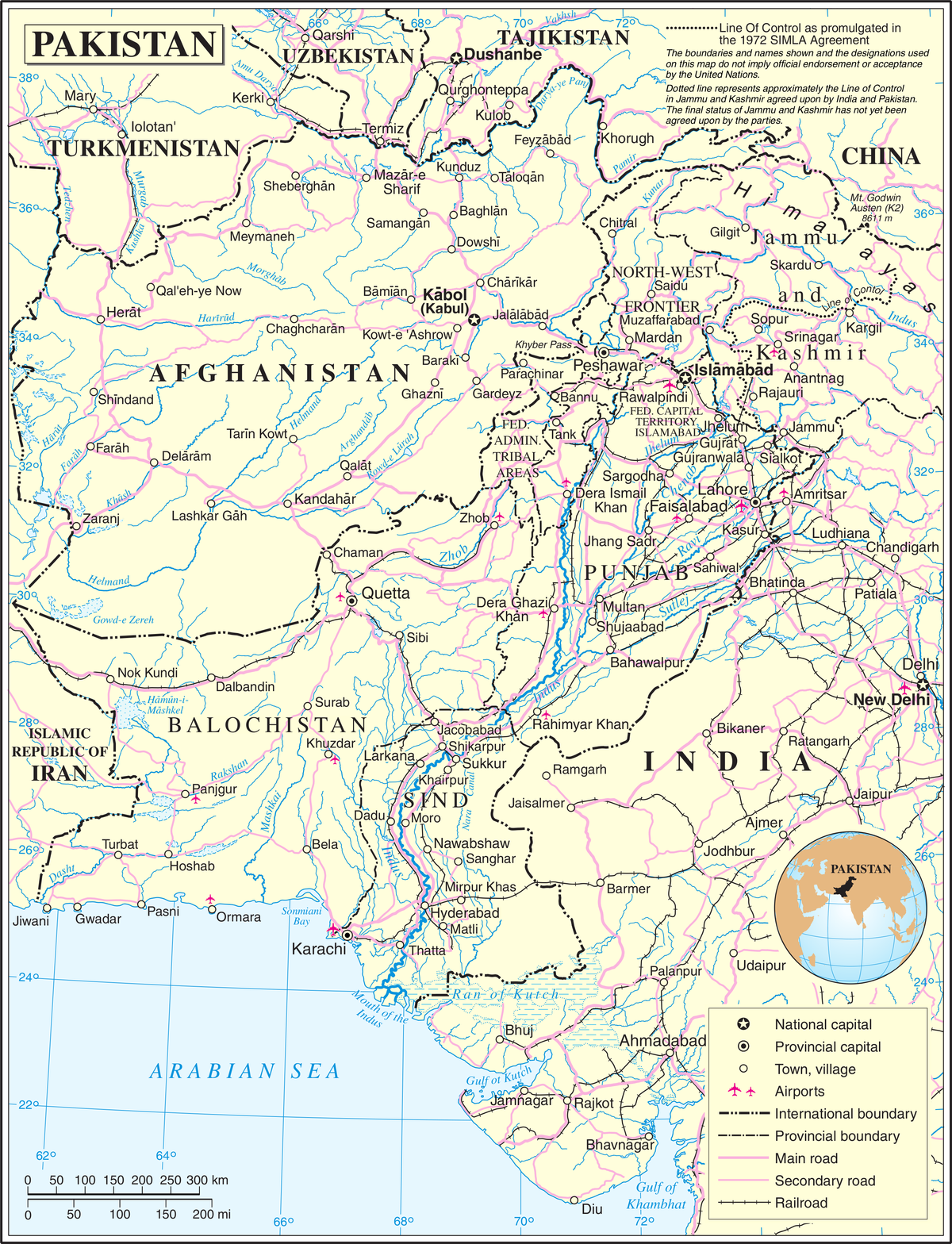Transport in Pakistan - Wikipedia