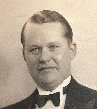 Val Bjornson - K. Valdimar Bjornson, known in politics as Val Bjornson, in his 20s.