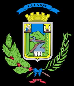 La Unión (canton) - Image: Union Escudo